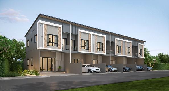 Terra Ville Hometown, 215 residences