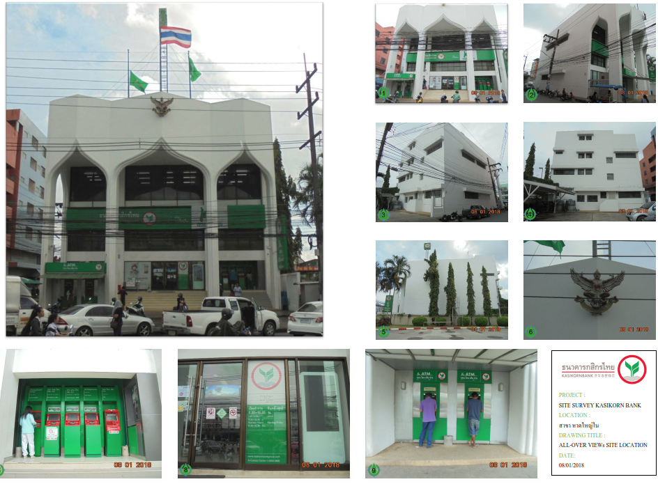 Kasikorn Bank Property and M&E System Audit 640 branches