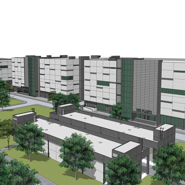 GPO PH2 pharmaceutical factory 70,000 m2, Pathumthani
