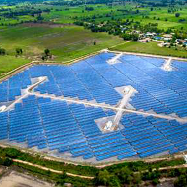 Solar Farm –8 Megawatt, 7 solar energy plants